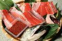 秋鮭親子セット 【秋鮭雄一尾4.5kg四つ切と醤油はらこ320g】