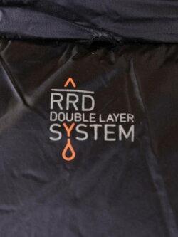 【国内正規品】RRDアールアールディーレインパーカーインナーダウン撥水RR19FM19025BLACKブラック