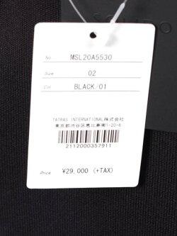 【国内正規品】SOLIDOソリードダンボールニットパンツドローコードイージーパンツMSL20A5530BLACKブラック