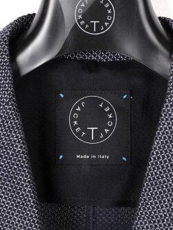 【国内正規品】T-JACKETティージャケット刺し子風2Bシングルテーラードジャケット419-60710001ネイビー