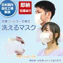 マスク 即納 洗えるマスク 防菌フィルタ