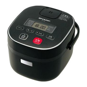 シャープ[SHARP]ジャー炊飯器0.54L(0.5合?3合)【KS-C5L-B】[新品]【RCP】
