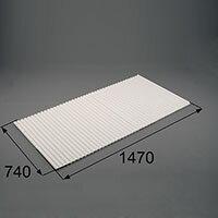 LIXIL リクシル トステム 浴槽巻きフタ【商品コード:RGFZ201 内容物:本体×1 ホワイト 】[新品]
