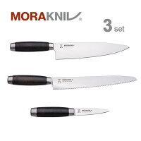 MoraknivKitchenKnife3setClassic1891,blackモーラナイフキッチンナイフ3本セットクラシック1891ブラック【正規品】