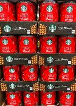 送料無料クリスマススタバスターバックス缶クッキーホリデークッキーズストローチョコレート大容量お菓子クリスマス限定