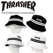 THRASHER/スラッシャーバケットハットMAGLOGO刺繍裏メッシュ帽子メンズレディースストリートカジュアルファッションスケーターヒップホップB系「16TH-H10」