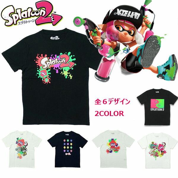 「スプラトゥーン2グッズ」Splatoon2半袖Tシャツスプラトゥーン2BANDAIニンテンドースイッチtシャツメンズレディース