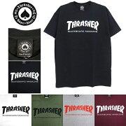 THRASHER[スラッシャー]SKATEMAGS/ST-Shirt(マガジンマグ半袖Tシャツメンズ)IMPORTUSAサイズストリートカジュアルファッションスケートボードブランド【SKATEBOARDSThrasherSkateMagT-Shirt】BLACK/WHITE/GREEN/GRAY/MAROON