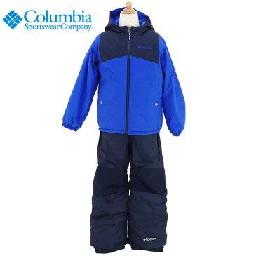 コロンビア キッズ スノーウェア 上下セット ダブルフレークセット リバーシブル COLUMBIA SY1093