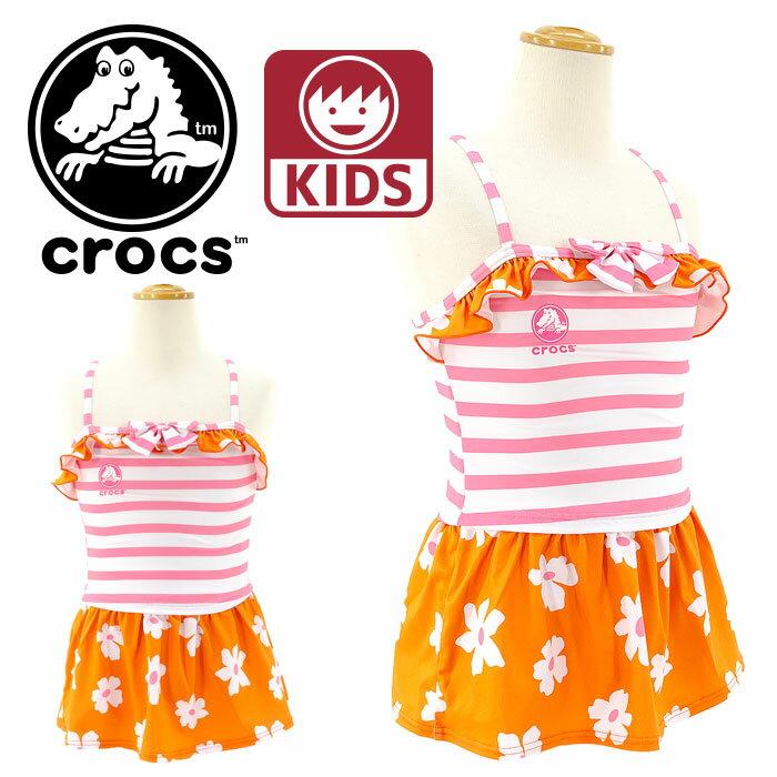 タンキニ水着-クロックス-子供用水着-CROCS-ガールズ水着-女の子-126741