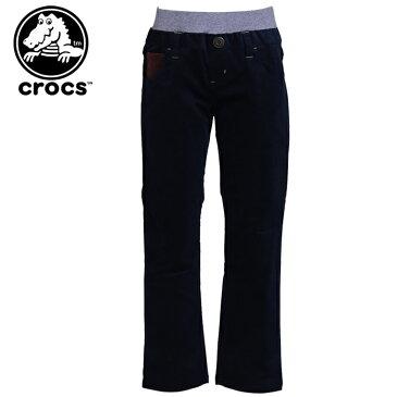 キッズ コーデュロイパンツ クロックス CROCS ネイビー 紺色 148347 長ズボン