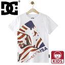 子供用 ビックロゴTシャツ 半袖 ディーシーシューズ プリントTシャツ DCSHOES スケボー 小学生 中学生