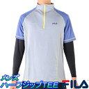 フィラ 半袖ハーフジップTシャツ メンズ インナーSET FILA 445-322 ランニングシャツ