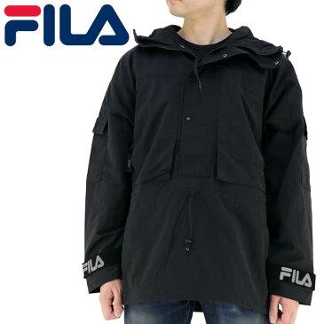 FILA メンズ ジャケット ハーフジップジャケット 撥水 アウター ロゴ FM 9675