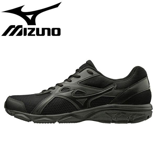 ミズノスニーカーマキシマイザー22ランニングシューズ運動靴黒色K1GA2002ブラック