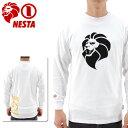 NESTA-長袖Tシャツ-ネスタ-メンズロンT-LS1502F
