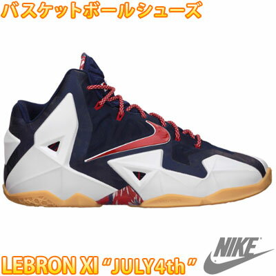NIKE LEBRON XI 'JULY 4th' Nike LeBron 11 mens basketball shoes sneaker  shoes 616175 164
