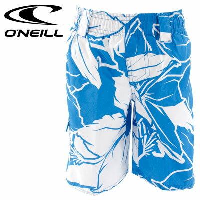 ONEILL サーフトランクス 海パン 子供用 花柄 インナーパンツ付き 625644 オニール ボードショーツ キッズ