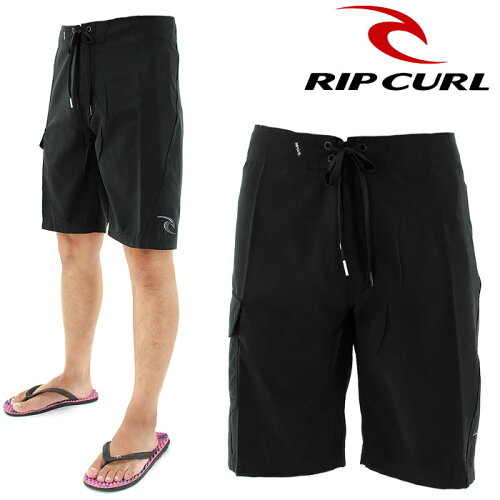 メンズ サーフパンツ リップカール 海水パンツ W01-511 RIPCURL シンプル BLK ブラック