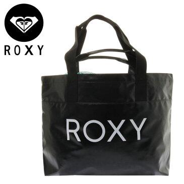 ロキシー 撥水トートバッグ ROXY BEACH DAY TOTE BAG 大容量 ビーチバッグ RBG182308 BLK
