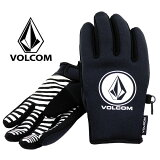 ボルコム スノーボード メンズ 五本指 軽量 ネオプレーン素材 スノーグローブ ブラック スキー 手袋