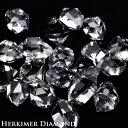 ハーキマーダイヤモンド AAA ハーキマー水晶 原石 単結晶  約35ct前後...