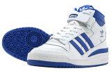 adidas FORUM MIDアディダス フォーラム ミッドFTW WHITE/TEAM ROYAL BLUE/FTW WHITE