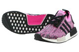 【2017年4月27日発売】ADIDAS NMD_R1 W PKアディダス エヌエムディ R1 ウィメンズ プライムニットPink Rose/Core Black-Footwear White