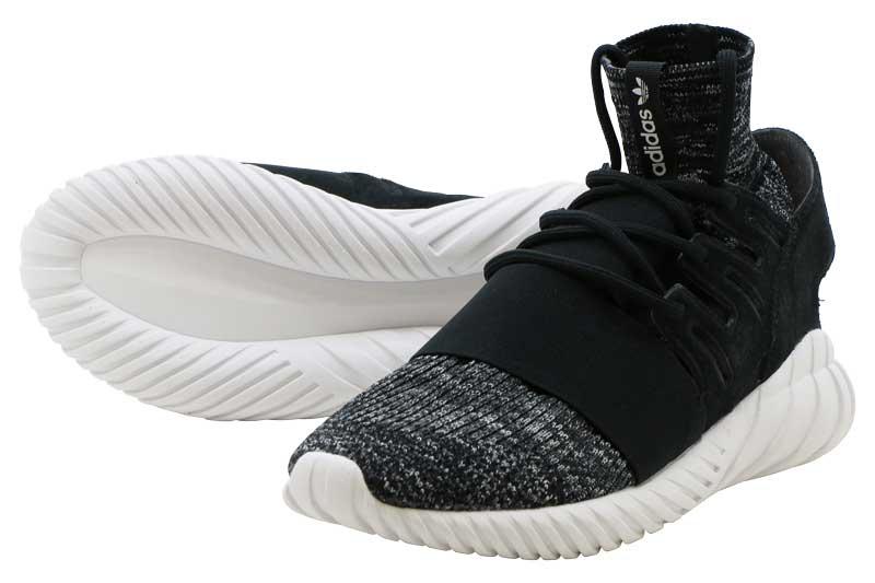 レディース靴, スニーカー FINAL SALEADIDAS TUBULAR DOOM PK PK CORE BLACKGRANITEVINTAGE WHITE