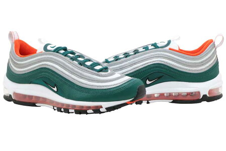 NIKEAIRMAX97ナイキエアマックス97RAINFOREST/WHITE-TEAMORANGE-BLACK