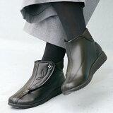ショートブーツ 快歩主義 L137 レディース アサヒシューズ ショートブーツ レディース ギフト シニア 女性 靴 歩きやすい smtb-u