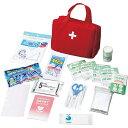 救急バッグセット19点(62350)ナカガワ 救急セット 携帯 衛生用品 応急手当 防災グッズ 非常時 常備品 手当 アウトドア キャンプ用品