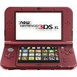 3DS NINTENDO NEW3DSXL SYSTEM RED(ニンテンドー 3DS XL(LL) NEWレッド 北米版)〈Nintendo〉