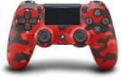 DualShock4WirelessControllerRedCamoUS(デュアルショック4ワイヤレスコントローラーレッド・カモ北米版)〈Sony〉