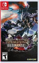 SWMonsterHunterGenerationsUltimateUS(モンスターハンタージェネレーションアルティメット北米版)〈Capcom〉8/28発売[新品]