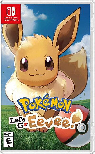 Nintendo Switch, ソフト SWITCH Pokemon Lets Go, Eevee!