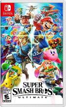 SWITCHSuperSmashBros.UltimateUS(スーパースマッシュブラザーズアルティメット北米版)〈Nintendo〉12/7発売[新品]