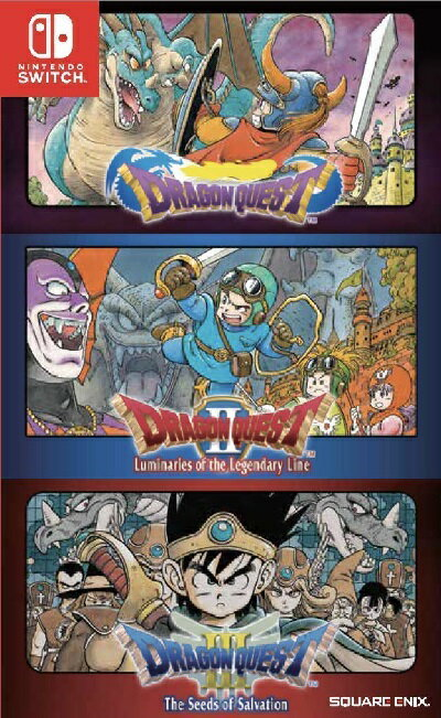 Nintendo Switch, ソフト SWITCH Dragon Quest 123 Collection ASIA