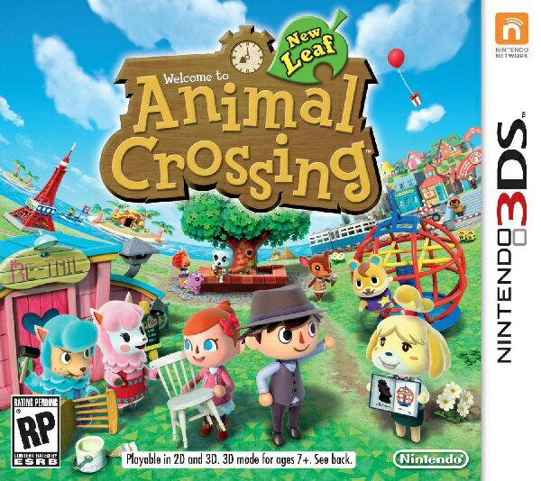 Nintendo 3DS・2DS, ソフト 3DS ANIMAL CROSSING NEW LEAF US( )Nintendo