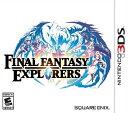 3DS FINAL FANTASY EXPLORERS US(ファイナルファンタジーエクスプローラーズ北米版)〈Square Enix〉[新品]