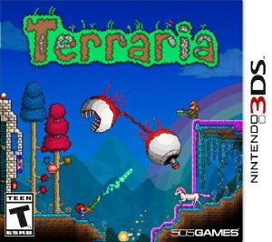 3DS TERRARIA USA(テラリア 北米版)〈505 Games〉