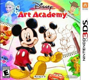 3DS Disney Art Academy USA(ディズニーアートアカデミー 北米版)〈N…