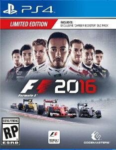 【新作】PS4 F1 2016 (エフワン2016 北米版)〈Deep Silver 〉8/1…