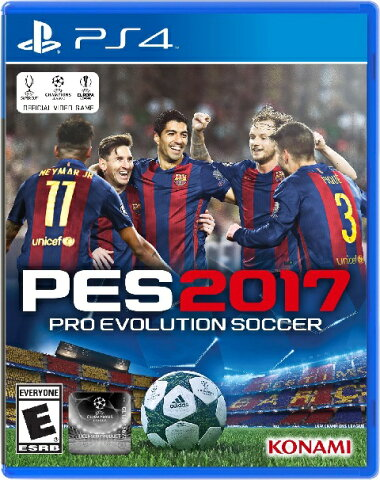 PS4 Pro Evolution Soccer 2017(プロエボリューションサッカー2017 北米版)〈Konami〉[新品]※LATAMエディション(英語,仏語,スペイン語,ポルトガル語)
