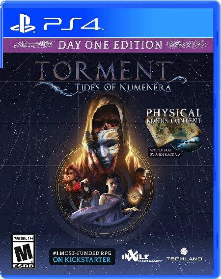 PS4 Torment:Tides Of Numenera(トルメント タイズオブヌメネラ 北米版)〈Techland〉
