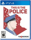 PS4 This Is the Police(ディスイズザ・ポリス)〈THQ Nordic〉[新品]