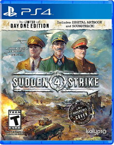 PS4 Sudden Strike 4(サドンストライク4北米版)〈Kalypso Media…