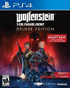 PS4 Wolfenstein:Youngblood Deluxe Edition(ウルフェインシュタイン・ヤングブラッドデラックスエディション 北米版)[新品]