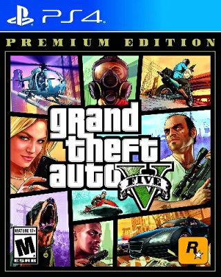 PS4 GRAND THEFT AUTO V Premium Edition(グランド・セフト・オートV プレミアムエディション 北米版)[新品]