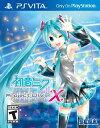 PSV Hatsune Miku: Project DIVA X(ハツネミクプロジェクトディーバエックス 北米版)〈Sega〉[新品]